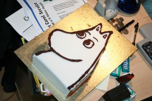 Bad Moomin Cake XD by Kiwikku