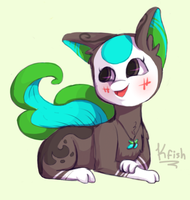 Lepidoo the Finnedyr by Half-Dead-Kitty