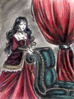 Glory-Victorian Vamp color by queenelf