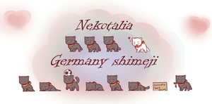 Nekotalia: Germany shimeji by uncut-adventure