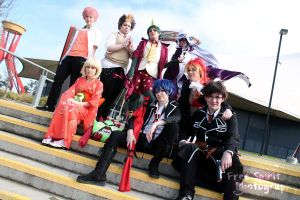 Blue Exorcist Group by TheSuperMoMo