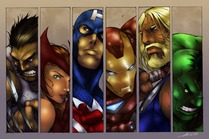 Avengers by Alvin Lee by SmoothColor