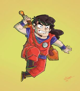 Gohan by cool-slayer