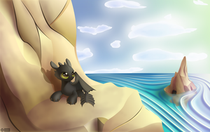 Toothless by iOVERD