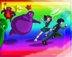Boohbah attack by Chael