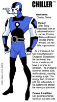 Chiller -bio by LegacyHeroComics