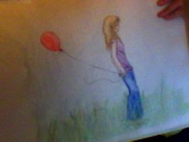 Red Balloon. by pokings