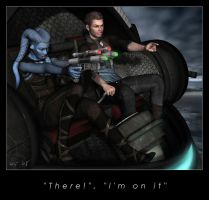 """""""There"""", """"I'm on it"""" by Kaernen"""