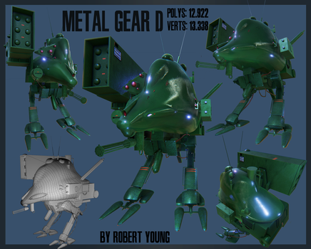 Metal Gear-D by New-Ray