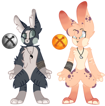 Bell Bunny Adopt #1 (CLOSED) by Wheres-Wolf