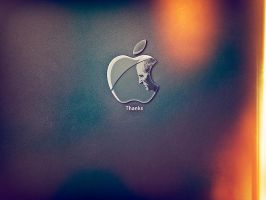 Steve Jobs Tribute by DeepBlueNine
