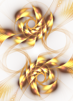 Twin Phoenix - Fractal Art by CMWVisualArts