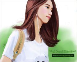 120703 Yoona Snsd Digital Painting by Tomkui-Siam