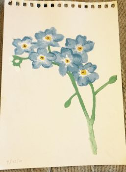 Forget me not by daisymaydrawings