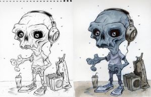 Hey, need a Zombie DJ? by Axel13-Gallery