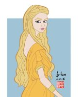 Nell Tiger Free - Myrcella - Game of Thrones by howardshum