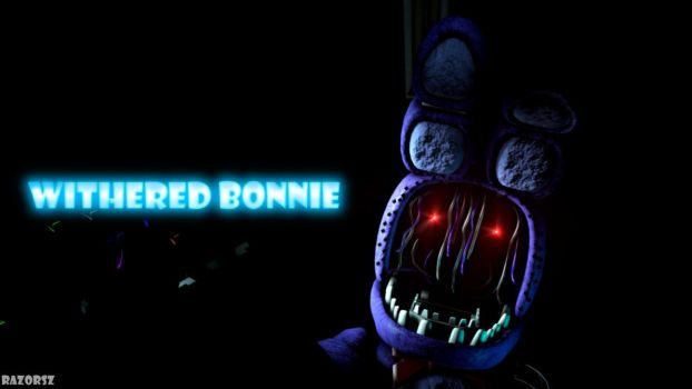 Withered Bonnie (Wallpaper) by Razorsz