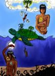 The World on the Turtles Back by SailorSun546