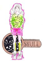 Key of skulls by 6vedik