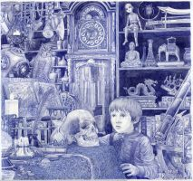 The Alchemical Table by conradkeely