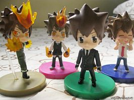 Tsuna through the Arcs by The-Empty-Sky