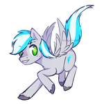 Silverb0lt : Commission by ALilAngelKitty