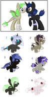 Amazona and Strong Thunder foals - {closed} by Ivon-adopts
