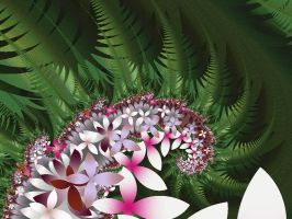 Fern's flowers by mahaon