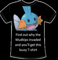 Find Out Why Mudkip Invaded by alimination602