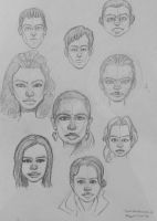faces practice by fulminatingpotion