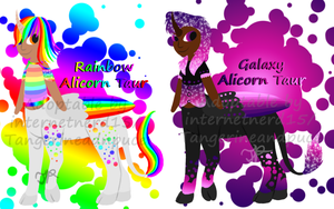 Alicorn Taur Point Adopts--OPEN by Tangerineandpuce