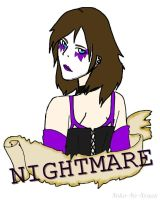 Nightmare Badge [Commission - Aurosai] by CrypticGrin