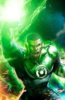 GreenLantern Sketch by JPRart