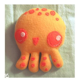 Mr. Squii Plush for Fuish by 0xo