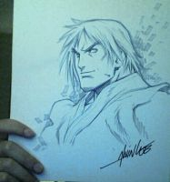 Ken Masters sketch  Alvin Lee by westwolf270