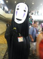 Otakon 2013 - No Face by mugiwaraJM