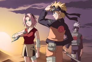 Naruto: The New Team by Risachantag