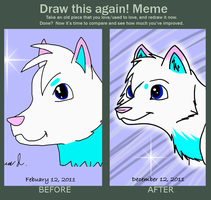 Improvement Meme by RJtheAwesome