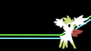 . Pokemon Wallpapers . Shaymin Sky . by Flows-Backgrounds