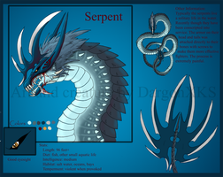 The Serpent by DargonXKS