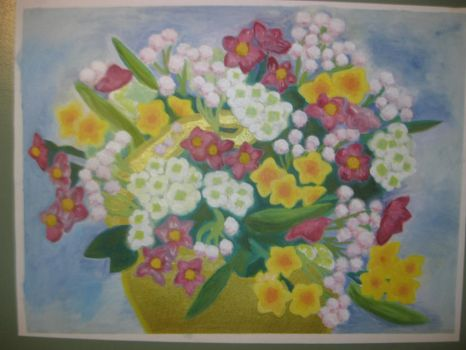 Mother's Day Painting by Winter-Colorful