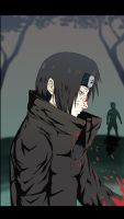 Itachi revenge by Kizanko-dragon