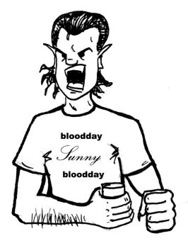 bloodday Sunny bloodday by Bendrix666