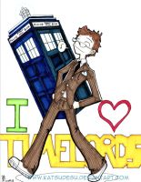 I Love Timelords by Katsudesu