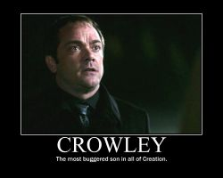 Crowley Motivational by raefalcon