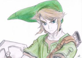 Twilight Princess - Link by Chocolate-Luver