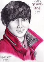 Happy Yesung Day by mellocat