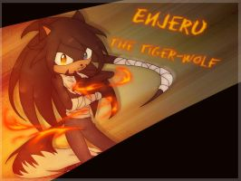 [Gift] Enjeru The Tiger-Wolf |HBD| by Nickythecat1997