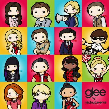Glee by NickyToons
