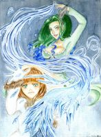 Made of water and ice. by An-cha